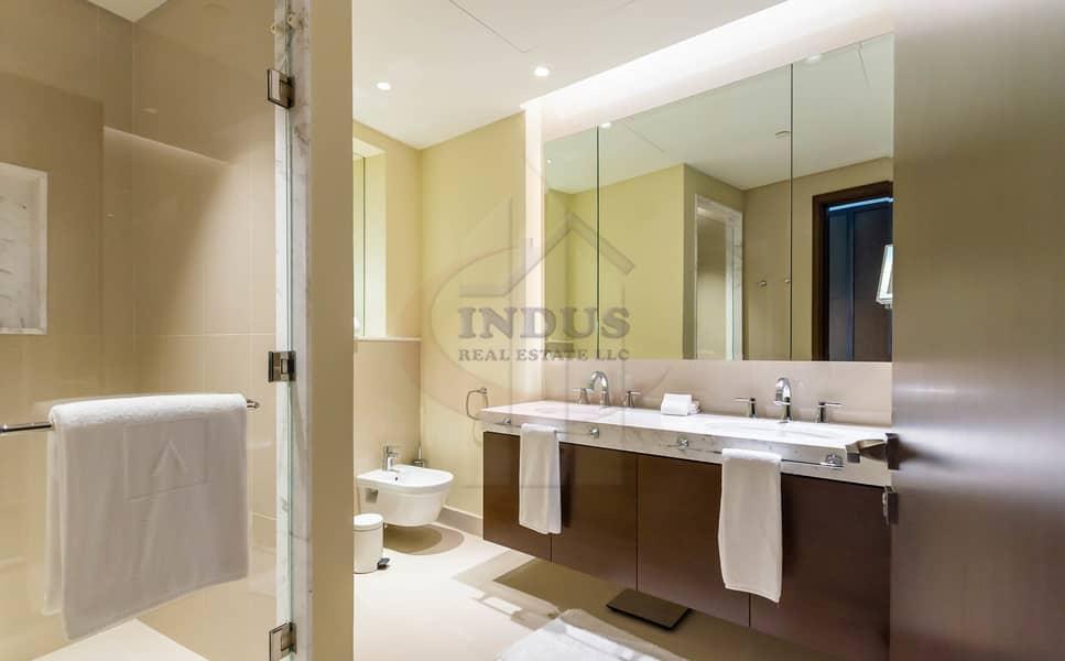11 3BR+M Furnished Apartment | Burj Khalifa-Fountain Views