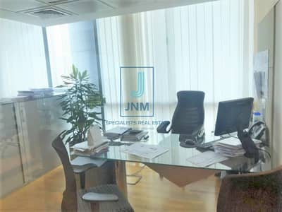 Office for Rent in Jumeirah Lake Towers (JLT), Dubai - EXCLUSIVE Furnished Half Floor   FREE 10 Parkings