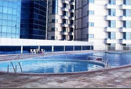 big size one bedroom  hull apartment flat with parking  for rent in falcon tower
