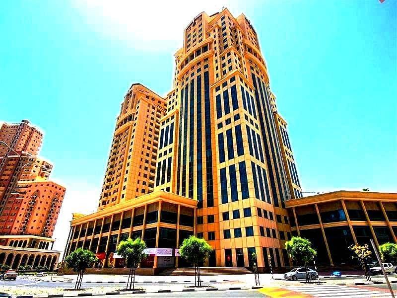 شقة في أبراج القصر واحة دبي للسيليكون 2 غرف 56000 درهم - 4456635