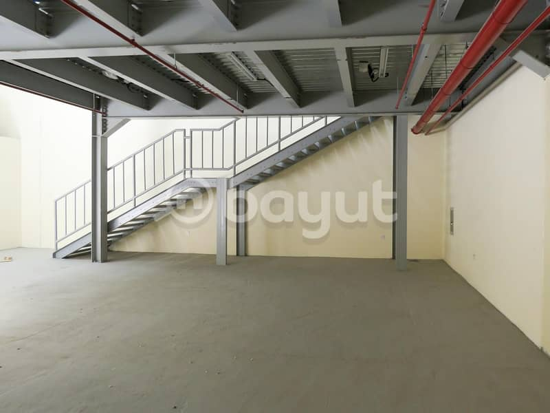Spacious and in good location warehouse available