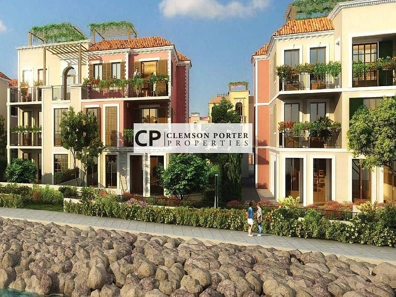 16 Spectacular Waterfront Townhouses in Jumeirah 1