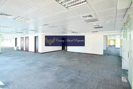 Office for Rent in Jumeirah Lake Towers (JLT), Dubai - Partitioned Office | Full Floor | Cluster F | Rent - JLT
