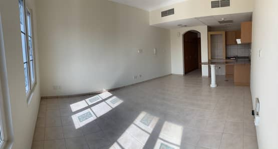 Studio for Rent in Green Community, Dubai - Unfurnished Studio I Pool View I West Apt.