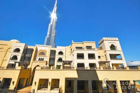 شقة 2 غرفة نوم للبيع في المدينة القديمة، دبي - Vacant | Partial Burj Khalifa View | 2 Bed