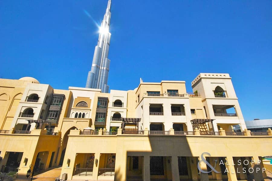 Vacant   Partial Burj Khalifa View   2 Bed