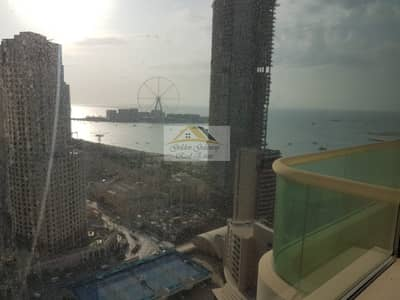 2 Bedroom Apartment for Rent in Dubai Marina, Dubai - Furnished 2 BR   Sea View   higher Floor