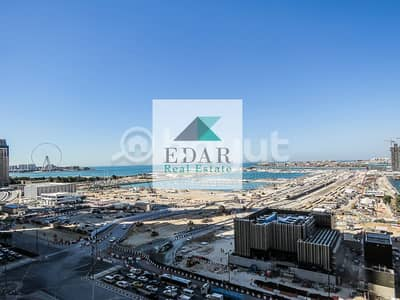 2 Bedroom Apartment for Rent in Dubai Marina, Dubai - Spacious & Well Maintained 2 Bed Apartment Dubai Eye View