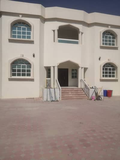 7 Bedroom Villa for Rent in Al Rawda, Ajman - Spacious  and beautifull villa 8 bedrooms  8 bathrooms 2 hall 1 majlis 2 kitchens Parking space Kids play area Near to the main road  Rawda 3 For more details and viewing plz call Shahab balochi 0551273553 Al jadaf real estate
