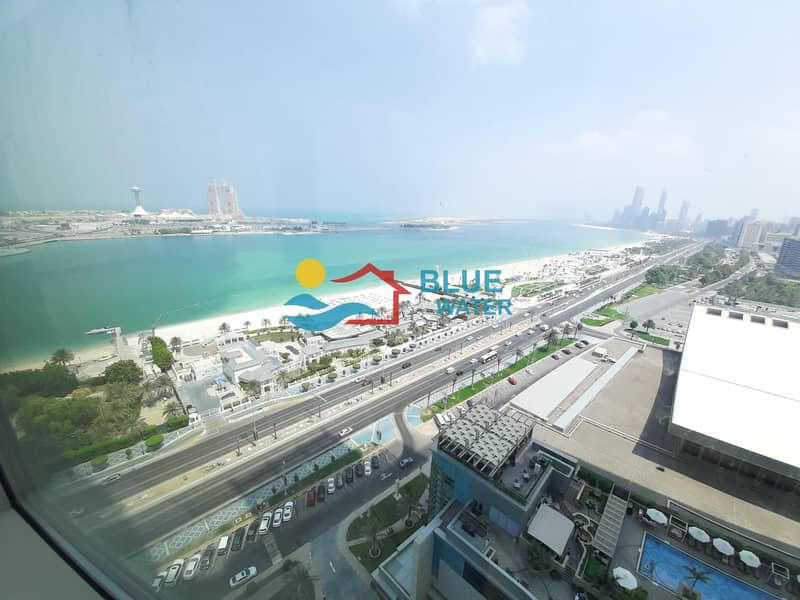 2 Duplex Fully Sea View 2 BR Nation Tower( 0% Fee)