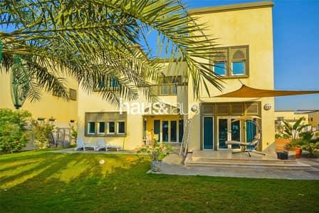 3 Bedroom Villa for Rent in Jumeirah Park, Dubai - Corner Plot | Fully Landscaped | Private Location