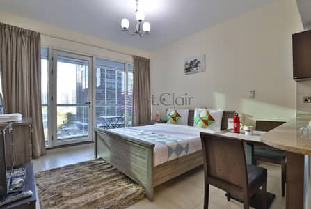 fully furnished studio for rent in dubai arch tower