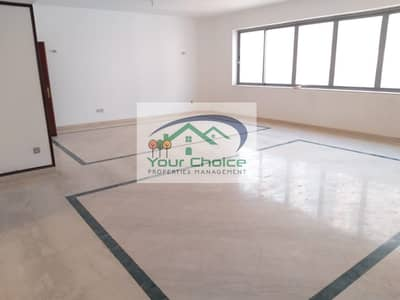 4 Bedroom Flat for Rent in Sheikh Khalifa Bin Zayed Street, Abu Dhabi - Bright & Spacious 4 bedroom with Maid's
