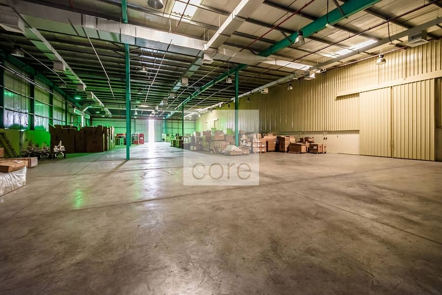 1 Fitted Warehouse with Open Yard | Parking