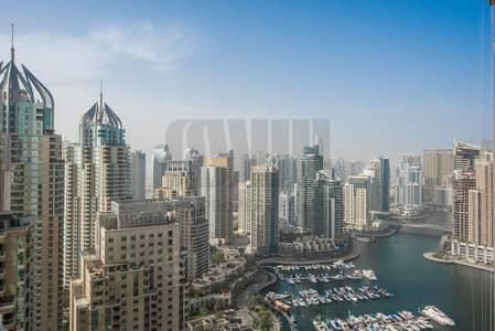 2 Bedroom Apartment for Rent in Dubai Marina, Dubai - Stunning Duplex Apartment with Marina View
