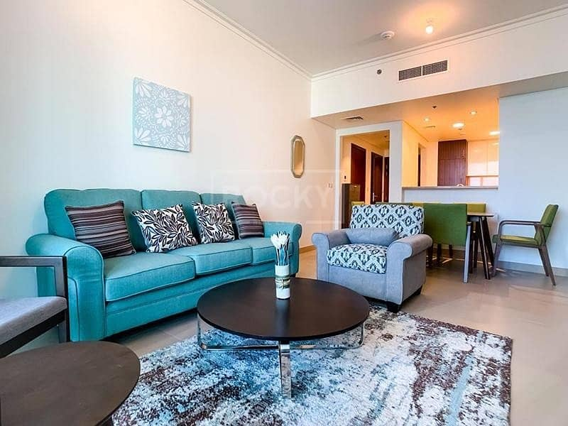 2 1-Bed | Equipped Kitchen | Near Dubai Mall | Downtown