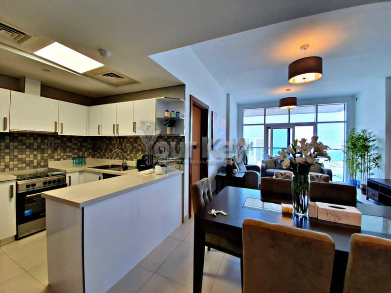 2 Semi-Furnished Dazzling 2BR with Maidsroom and Balcony