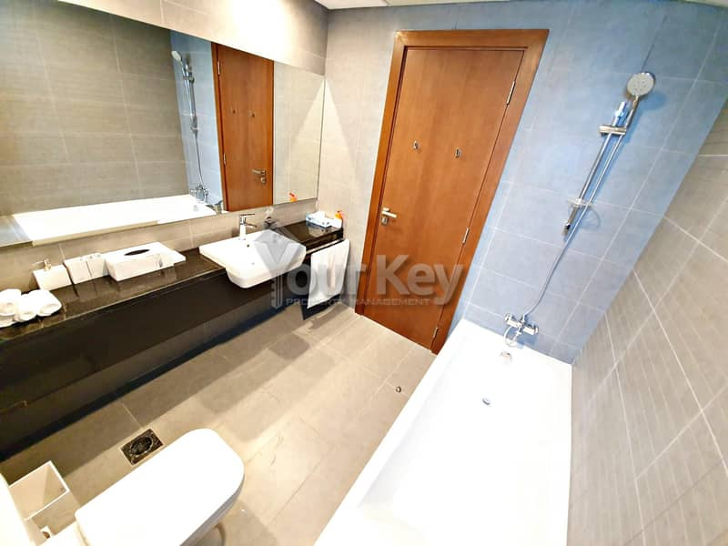 20 Semi-Furnished Dazzling 2BR with Maidsroom and Balcony