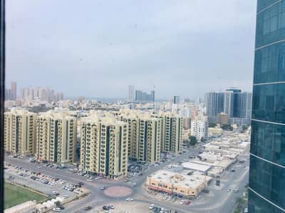 Office for Rent in Ajman Downtown, Ajman - very good  Office for rent horizon tower  in ajman