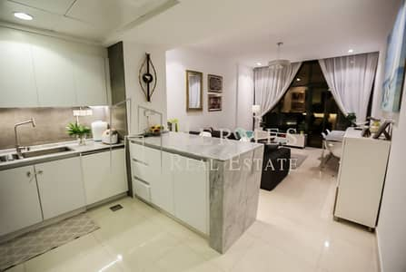 1 Bedroom Flat for Rent in Jumeirah Village Circle (JVC), Dubai - Fully Furnished  1 BR apartment with Study   in City Apartments | Pool View | High Floor | Upgraded