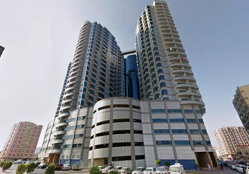 Falcon Towers: 1 Bed Hall 2 Washrooms big size in Downtown Ajman