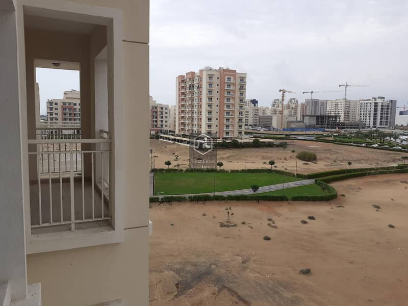 24 Brand New One Bedroom Open View apartment with Balcony is available for rent in Farah Tower 5