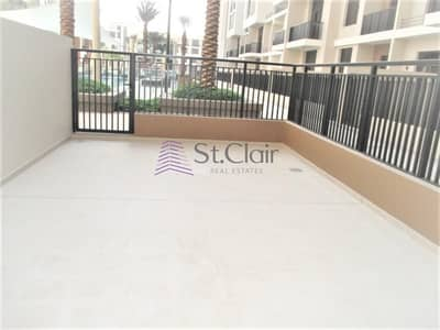 1 Bedroom Flat for Rent in Town Square, Dubai - Amazing Pool View 1 Bedroom with  Large Terrace