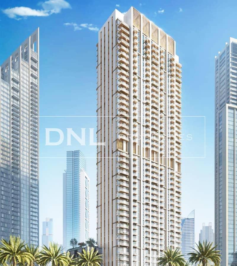 13 2BR Burj Crown   Post Handover Payment Plan   50% DLD Waiver