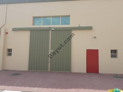 warehouse for rent in ajman with bathroom and barking