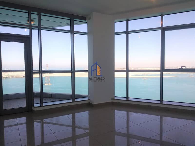 2  Full Sea View & Balcony