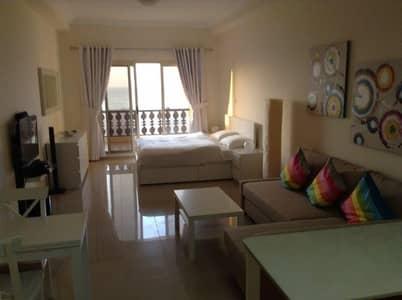 Studio for Rent in Al Hamra Village, Ras Al Khaimah - for rent executive furnished seaview marina studio
