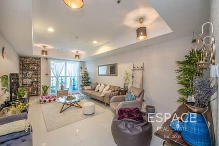 شقة 2 غرفة نوم للبيع في دبي مارينا، دبي - 2 Bed | 3 Bathroom | Sea View | Upgraded