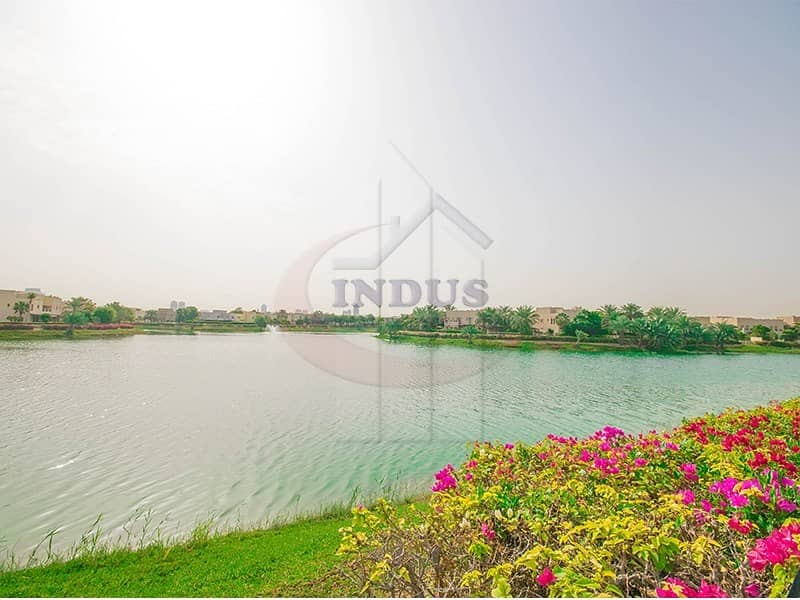 2 Elegant 5BR+M  Villa in Emirates Hills with Full Lake View | Exclusive