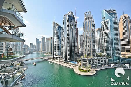 3 Bedroom Apartment for Rent in Dubai Marina, Dubai - New to the Market | Spacious | Full Marina View