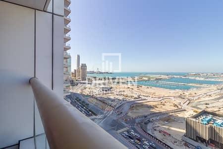 فلیٹ 1 غرفة نوم للايجار في دبي مارينا، دبي - Fully Furnished Apartment with Full Sea View