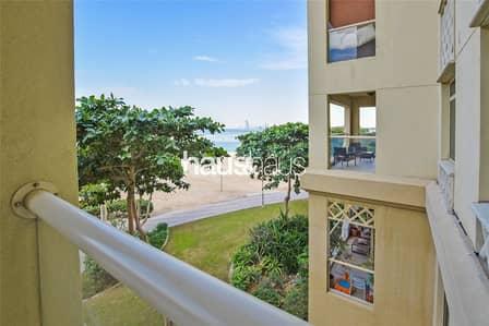 فلیٹ 1 غرفة نوم للايجار في نخلة جميرا، دبي - B Type | Full Sea View | Direct Beach Access