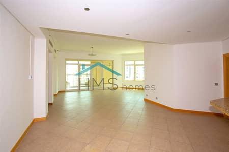 شقة 3 غرف نوم للايجار في نخلة جميرا، دبي - 3 Bedroom C Type on Left Hand Side