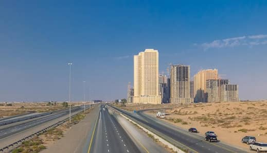 2 Bedroom Apartment for Rent in Emirates City, Ajman - BEAUTIFUL TWO BEDROOM HALL WITH PARKKING IN LAVENDER TOWER AJMAN