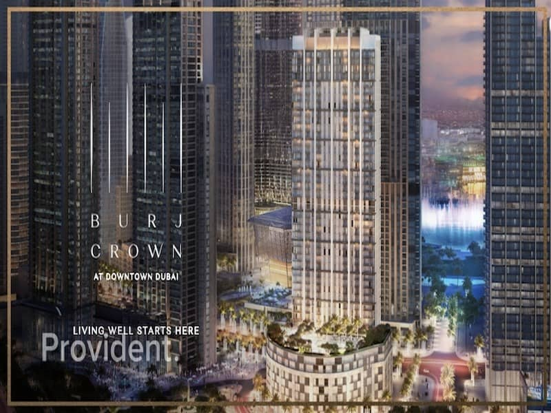 10 Burj Khalifa and Fountain View | Newly Lunched Burj Crown