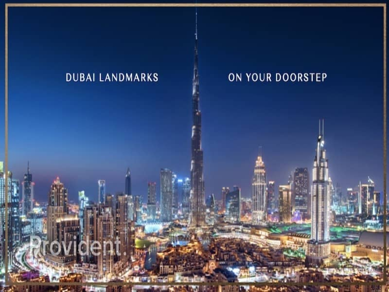 2 Luxurious living   Burj Crown   Profitable Deal