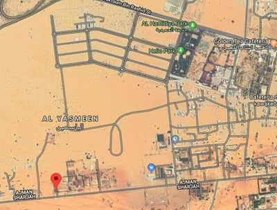 Plot for Sale in Al Yasmeen, Ajman - Invest in our project now an excellent return opportunity with commercial plots , front of 4 stores, on Al-Zubair Street, Jasmine Ajman