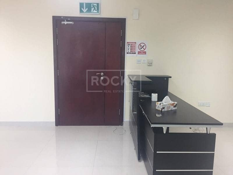 Partitioned | Fitted Office | Close to Metro