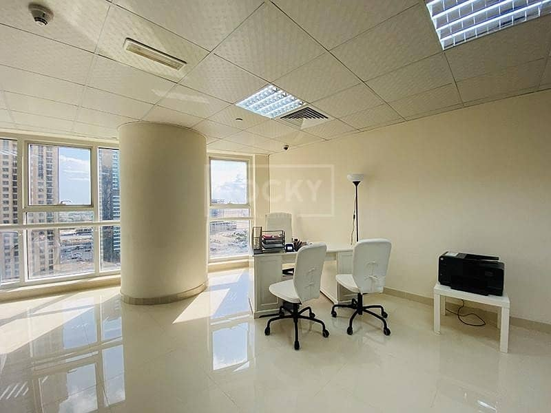 2 Fitted Office | Close to Metro | Lake view | JLT