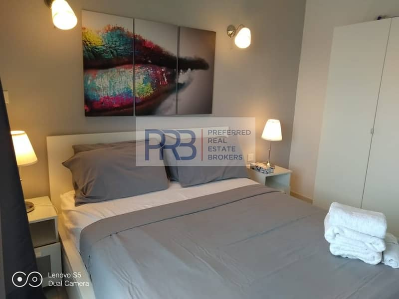 Fully Furnished 1BHK Ready to move in with balcony in JLT