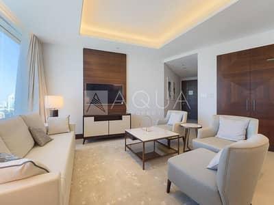 فلیٹ 2 غرفة نوم للبيع في وسط مدينة دبي، دبي - Stunning Sea and Skyline View | High Floor