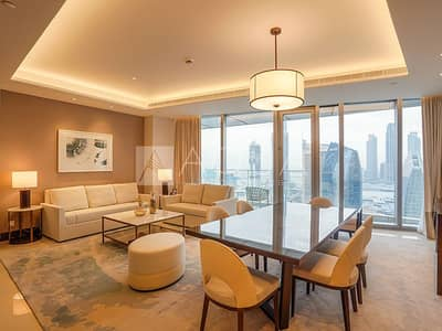 Ready| 3BR Mid Floor | Burj Khalifa View