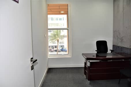 Office for Rent in Al Khalidiyah, Abu Dhabi - Looking for Office Space | Starting from AED 1,500/ month | Limited Offer Only