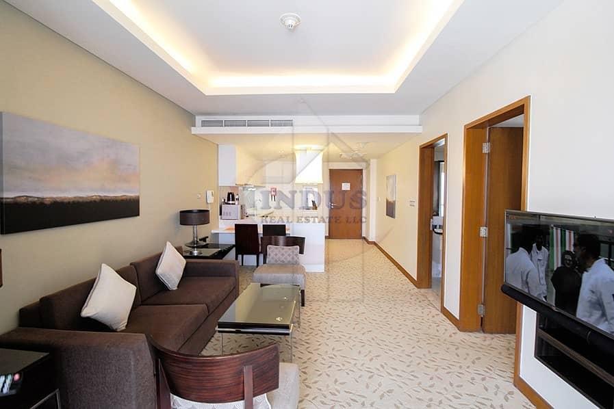 Stunning | Fully Furnished | 1BR| Hotel Apartment - Address Dubai Mall
