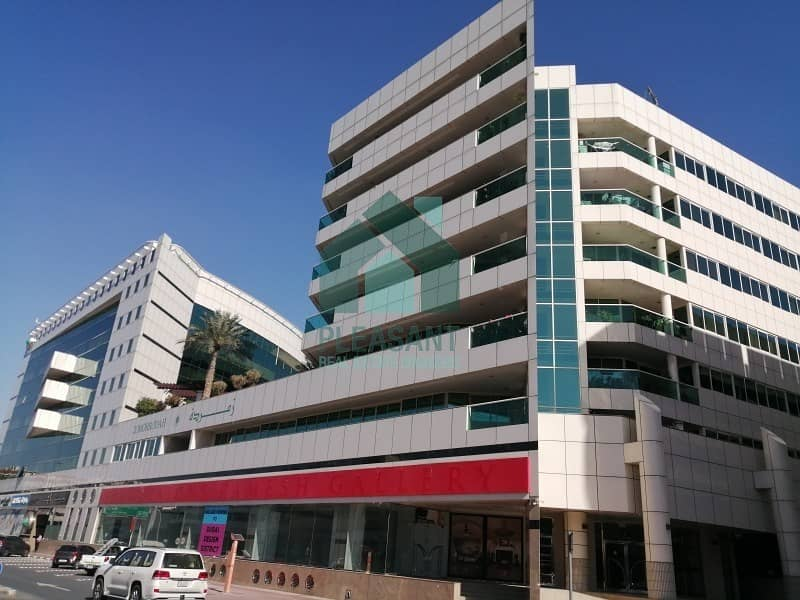17 Chiller Free Showroom Available on Mainroad in Karama near to GPO