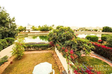 فیلا 3 غرف نوم للبيع في الينابيع، دبي - Stunning Full Lake view | Type 3M | Vacant